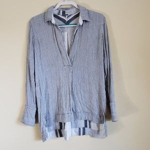 Free People Sweater Top Deep V Size S/P